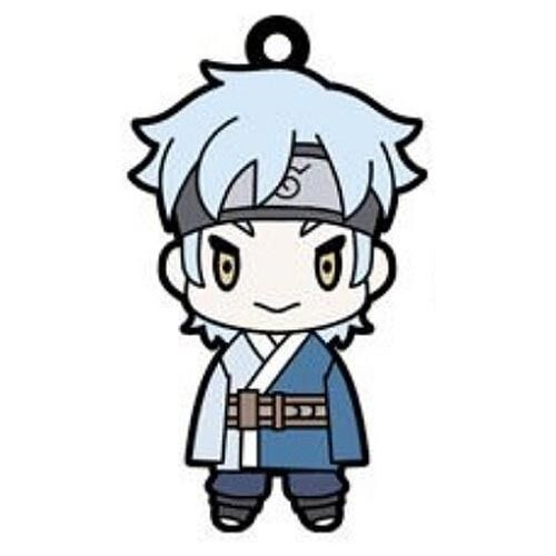 Naruto Boruto Mitsuki Rubber Key Chain Anime Manga Licensed MINT
