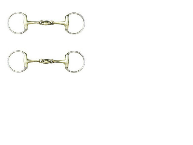 Bits HKM Loose Ring Snaffle With Argentan Coating 18mm