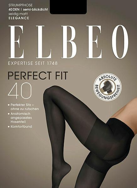 ELBEO Perfect Fit 40 Strumpfhose semi-blickdicht und matt 40 DEN rutscht nicht