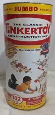 2000 Tinkertoy Classic Jumbo Construction Set 102 Pcs for sale online
