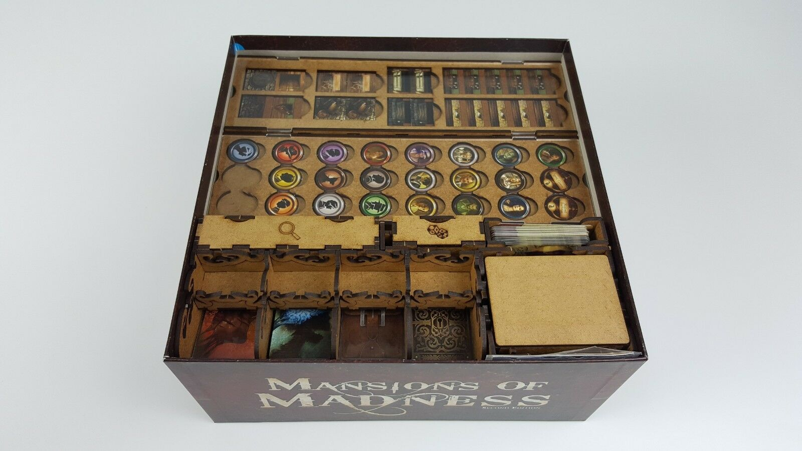 Mansion of Madness Second edition Organizer