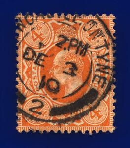 1909-SG241-4d-Orange-Red-M25-3-Newcastle-On-Tyne-DE-3-10-GU-Cat-20-cvag