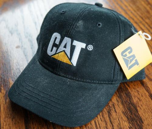 ADJUSTABLE CAP CATERPILLAR HAT EMBROIDERED LOGO TRUCKER CONSTRUCTION EQUIP