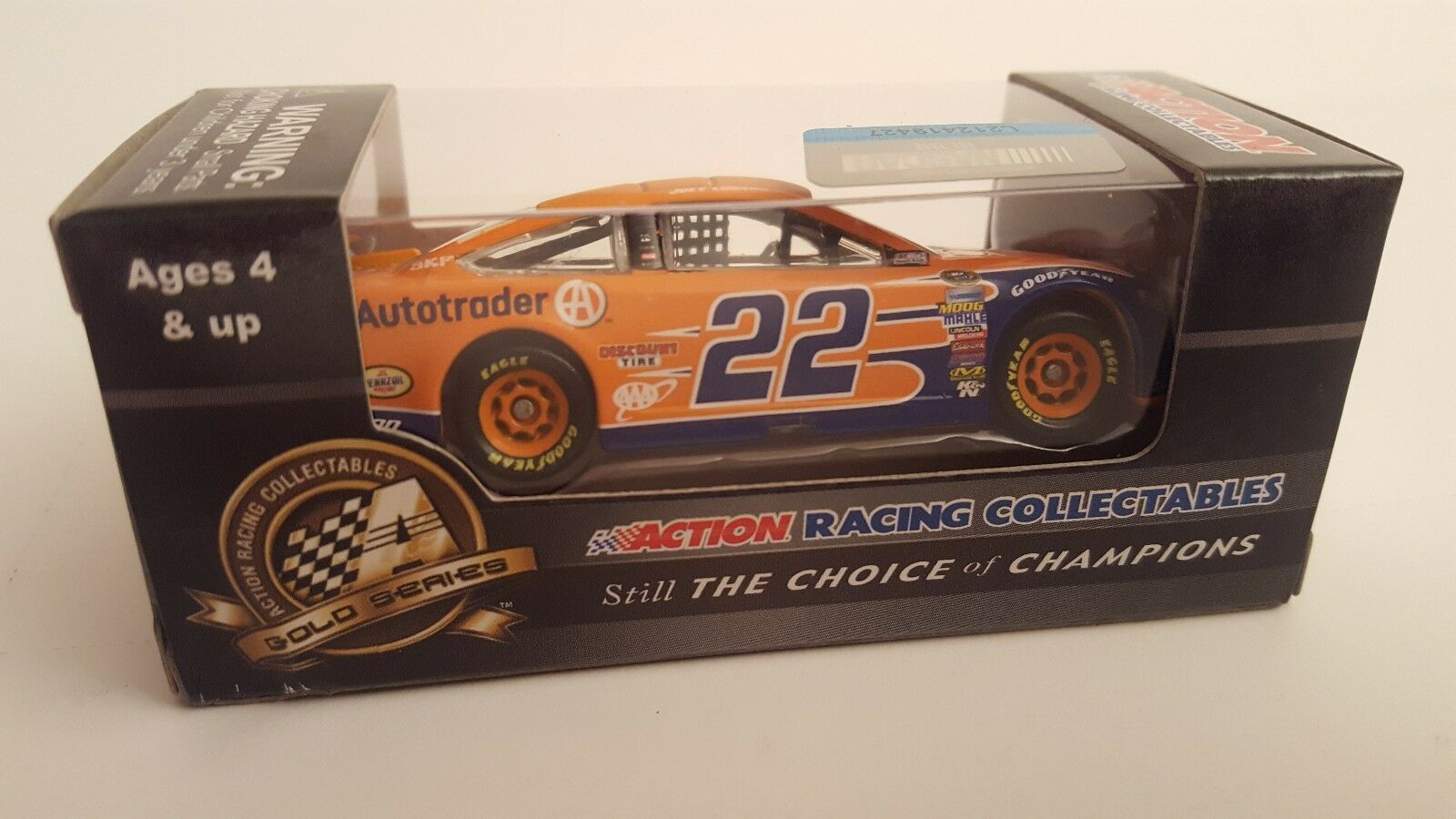 Joey Logano 2014 ACTION 1:64 1:64 ACTION  22 AutoTrader Ford Fusion Nascar Sprint Diecast 118139