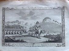CLOTHES camp agricultural TAGURI TARTARS ASIA etching 1784 MILLAR buoi