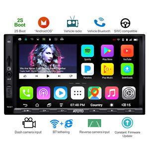 ATOTO Android Autoradio GPS Navi 1G /16G / A6Y2710SB /2*Bluetooth/WiFi/Camera In