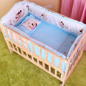 Bedding-Set-5Pcs-Baby-Crib-Cot-Sets-Nursery-Newborn-Boy-Girl-Bumper-Pillow-Mat