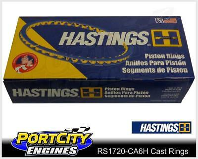 Hastings 132S020 Single Cylinder Piston Ring Set