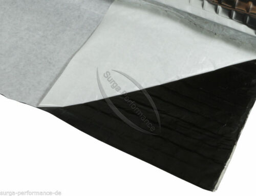 Alubutyl 50x200 cm Dämmmatte selbstklebend Anti Dröhn Matte Fahrzeugdämmung Set