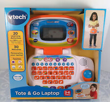VTech Challenger Laptop Pink For Pre-school Kids Learn letters,Vocabulary,Maths