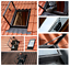 Velux Ausstiegsfenster GVT 103 0000Z 54x83 cm Polyurethan Schwarz Dachausstieg