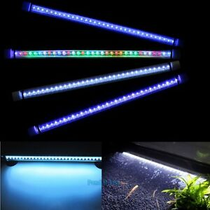 Submersible led light strip bar lamp for 24 aquarium fish tank ebay image is loading submersible led light strip bar lamp for 24 mozeypictures Choice Image
