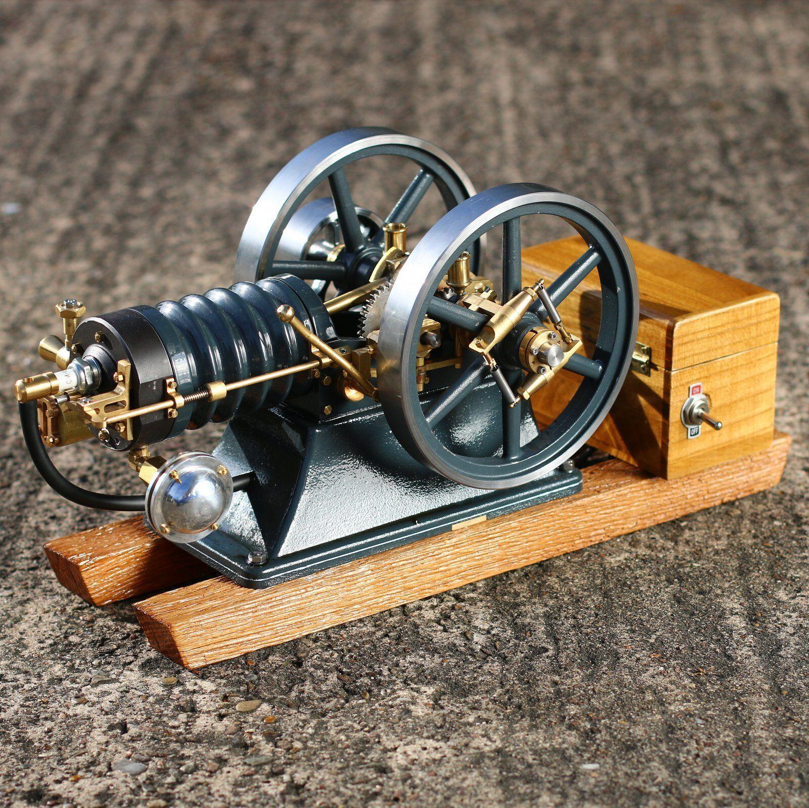 Stationärmotor  Karl  material kit modellbau motor con hit and miss régimen