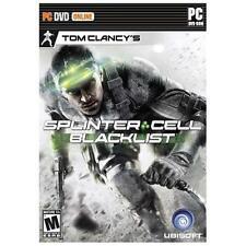 NEW Tom Clancy's Splinter Cell Blacklist -PC Linux, Mac OS X, Windows 7/Vista/XP