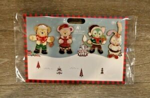 Disney-Trading-Pin-Shanghai-Shellie-May-Gelatoni-Duffy-Christmas-LE-800-Set