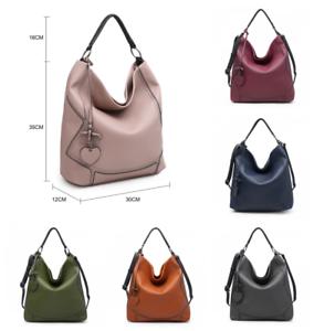 Las Womens Soft Leather Shoulder