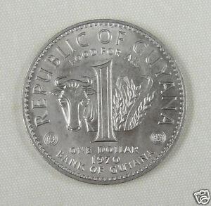 Guyana-Coin-1-Dollar-UNC-1970-F-A-O
