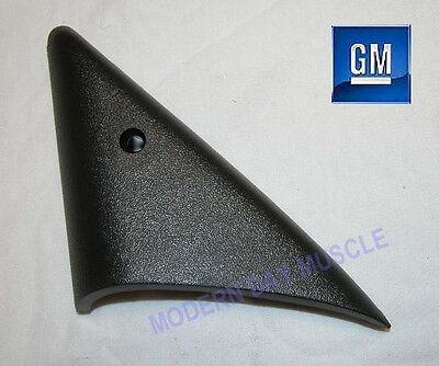 93-02 Camaro Firebird Driver Power Mirror Inner Plastic Triangle Trim NEW GM 279