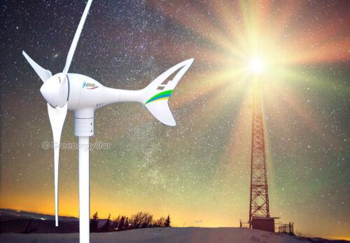 3Blades Wind Turbine Generator Land//Marine Use Apollo 550 W Watt 24 V AC