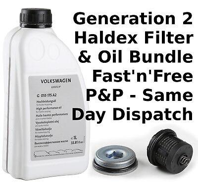 Generation Gen 2 Filter kit VW Audi Seat Skoda UK for HALDEX 02D598574