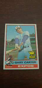 1976 Topps Baseball Card #441 Gary Carter All Star Rookie Montreal Expos EX