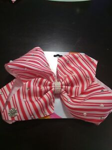 image is loading jojo siwa large striped candy cane christmas hair