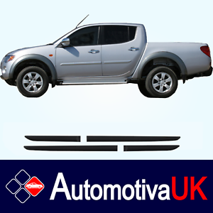 Mitsubishi-L200-Rubbing-Strips-Door-Protectors-Side-Protection-Mouldings-Kit