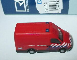 Rietze-16170-Iveco-Daily-Brandweer-B-1-160-Neuf-Emballage-D-039-Origine