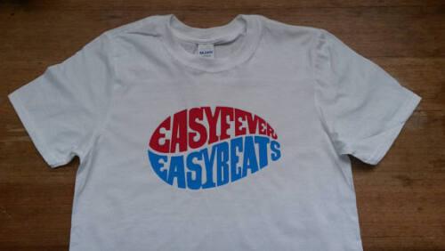 Easybeats Easyfever Album T-shirt Rare Mod 60s Vintage Style Tour R/'N/'B Vinyl LP
