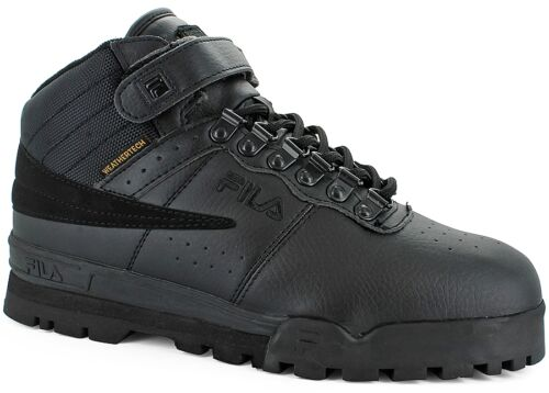 Fila F-13 WEATHER TECH Mens Black Lace Up Hiking Boots