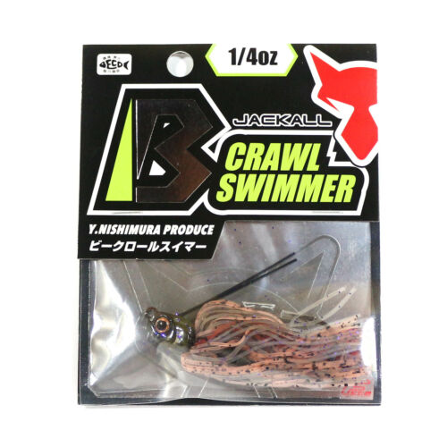 1304 Details about  /Jackall B Crawl Swimmer 1//4 oz Sand Zarigani