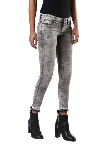 DIESEL skinzee low-C 0679s donna pantalone jeans skinny super slim