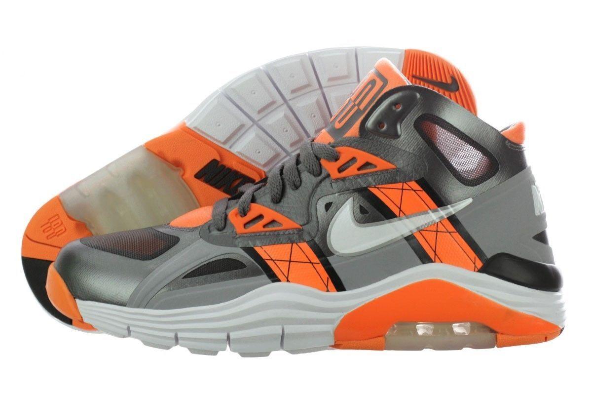 NEW NIKE LUNAR 180 TRAINER SC Cool Grey orange MENS Limited