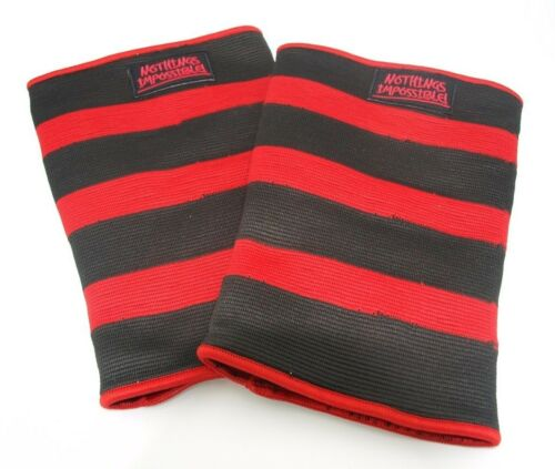 Knee or Elbow Support  Powerlifting Pair Bodybuilding size XXL Power Sleeves