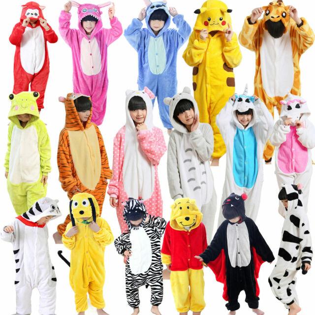 Kigurumi Adult Kids Animal Deer Lion Cosplay Costume Pajamas Sleepwear Jumpsuit