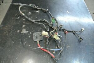 1988-88-Honda-TRX-350D-4x4-Wire-Wiring-Harness-Regulator-Rectifier