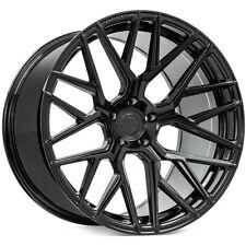 4 20x1020x12 Staggered Rohana Wheels Rfx10 Gloss Black Rims B11 Fits 2012 Jeep Grand Cherokee
