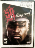 Rare 50 Cent Bulletproof Concert Dvd- Original Ps2 Xbox Limited Game Promo