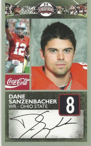 DANE SANZENBACHER OHIO STATE SENIOR BOWL CARD