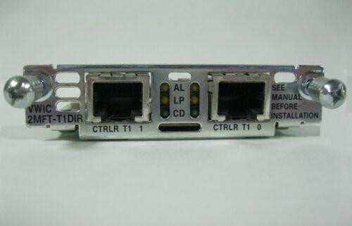 Cisco VWIC-2MFT-T1-DIR 2-Port Voice//WAN Drop /& Insert Multiplexer 1-YR Warranty*