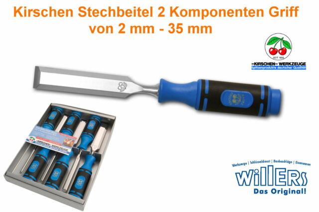 Kirschen Stechbeitel Typ 1008 - Größenauswahl von 2 mm - 35 mm - 2 K Griff - Top