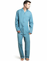 Mens Teal Green Easycare Pyjamas From Marks And Spencer Size M,l,xl Or Xxl