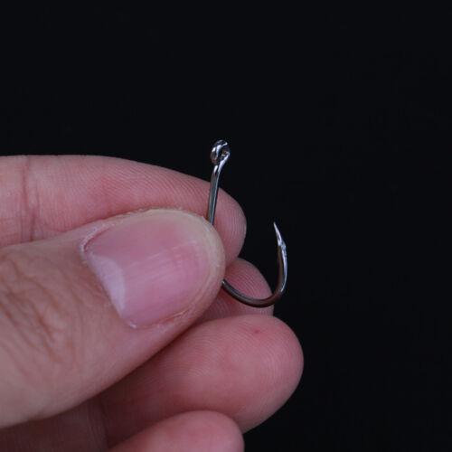100pcs//set mixed size #3~12 high carbon steel carp hole fishing hooks pacNWU XG