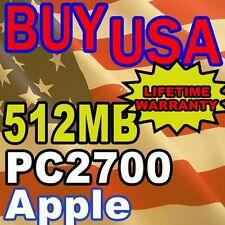 512MB APPLE PowerBook G4 1.67GHz 1GHz Memory RAM