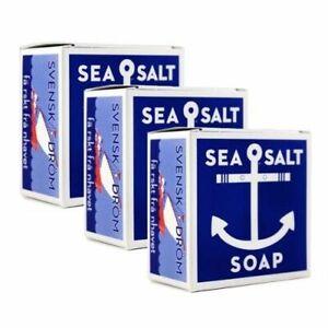 SWEDISH-DREAM-Sea-Salt-Soap-3-Pack-4-3oz-ea-Soap-Bar-FAST-SHIPPING