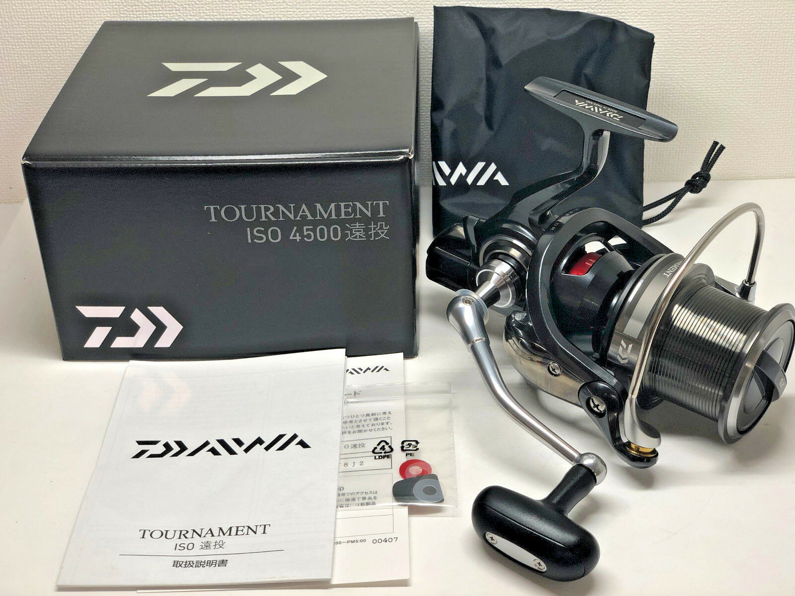 DAIWA 17 Tournament ISO 4500 ENTOU    Free Shipping from Japan