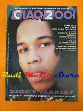 rivista CIAO 2001 40/89 +POSTER Prince Ziggy Marley John Cale Guns N'Roses No cd