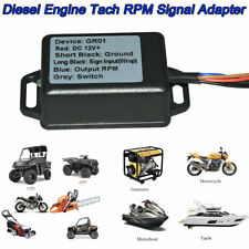 Diesel Engine Rpm Tachometer Sensor Signal Tach Adapter For Truck Boat Yacht