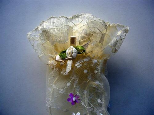 Filles Cream Dentelle Gants Mariage Baptême Fête Occasion Spéciale Girl Clothing