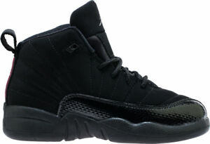 ab0475c1df2 Nike Preschool Jordan 12 Retro (PS) NEW AUTHENTIC Black/Rush Pink ...